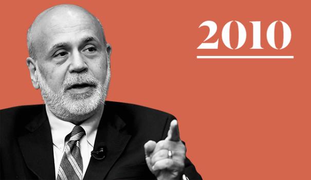 Power 100 Ben Bernanke