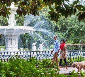 Savannah Forsyth Park fountain