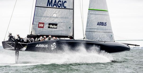 Voici le bateau conçu par Airbus qui pourrait gagner la prochaine America's Cup