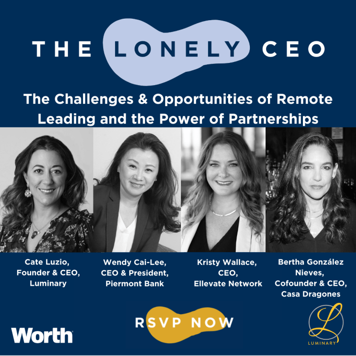 The Challenges & Opportunities of Remote Leading and the Power of Partnerships - Tuesday, July 14, 2020, at 3 p.m. ET
