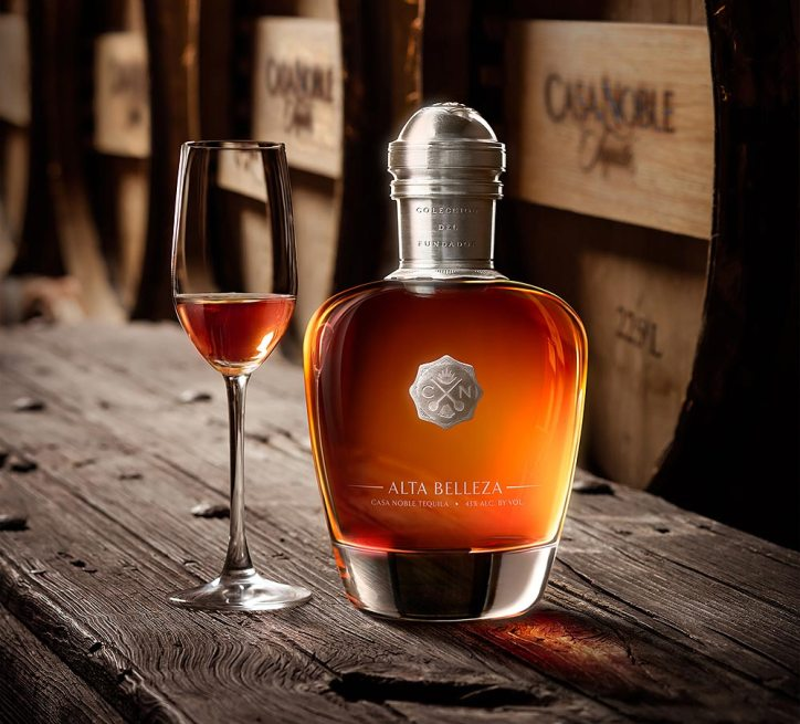 Casa Noble Alta Belleza Tequila is a small batch, top-of-class tequila that is produced under the supervision of maestro tequilero Pepe Hermosillo. Photo courtesy of Casa Noble