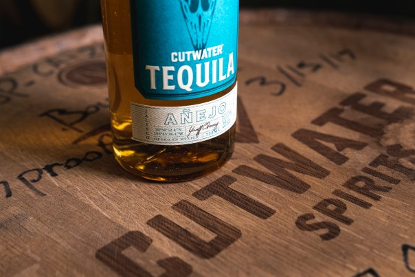 "Cutwater's bottled Añejo tequila is your time machine back to an era when blue agave was slow-cooked in traditional brick ovens, open-fermented then double-distilled on a custom-designed ""alambique"" made of stainless steel and copper. The result is magnificent. Photo courtesy of Cutwater Tequila"
