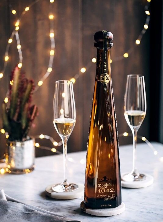 The Don Julio 1942 Añejo pays homage to the year its titular founder began making one of the world's first premium tequilas. Photo courtesy of Don Julio