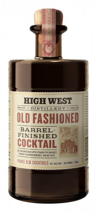 High West Distillery Barrel-Finished Old Fashioned