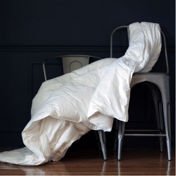 Down Etc. nailed it with this luxurious comforter. Photo courtesy of Down Etc