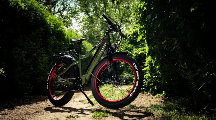 The Juggernaut Classic eBike is a perfect gift for the adventurous dad. Photo courtesy of Biktrix