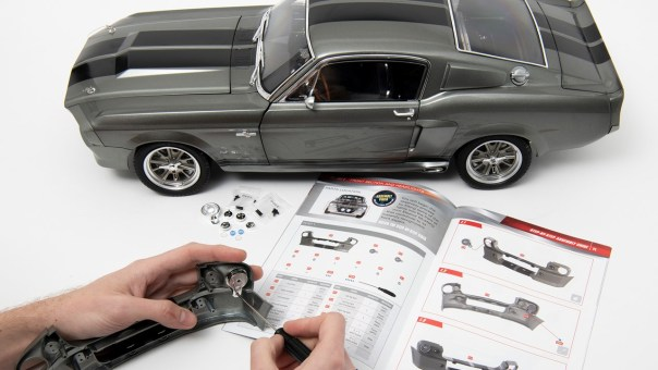 For gearheads dads who love working with their hands, this subscription model will be a gift he can enjoy all year round. Photo courtesy of Die-Cast Club