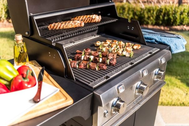 Elegant and high-tech, you won't strike out this Father's Day with the Saber Elite Grill. Photo courtesy of Saber