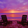 Back gt gallery for gt beach sunset with chairs