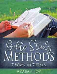 Bible study methods - 7 ways in 7 days