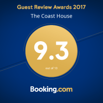 Worthing Accommodation Booking.com Awards - The Coast House