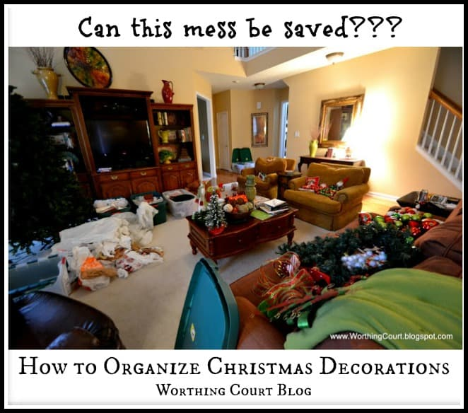 How To Organize Christmas Decorations Worthing Court