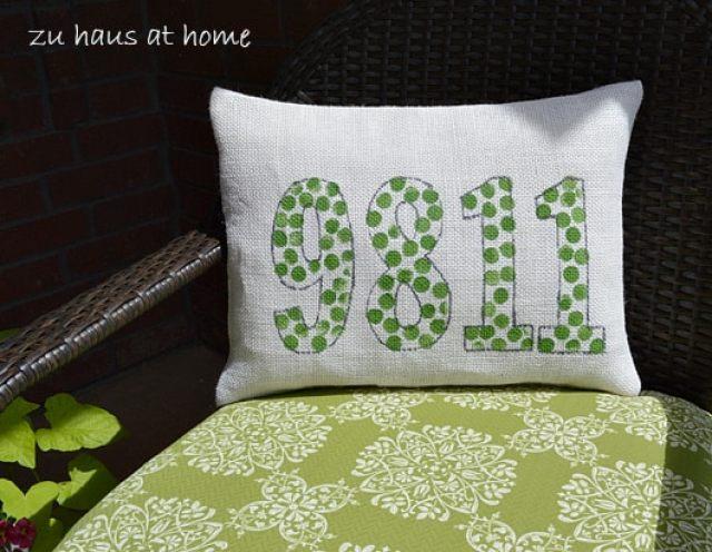 How to make a custom pillow