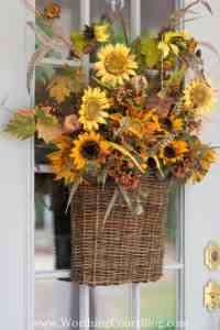 Easy And Simple Fall Front Porch {And Our New Front Door ...
