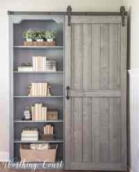 Bookcase Makeover - Traditional Cherry To Farmhouse Fab ...