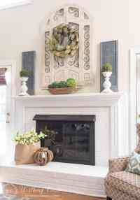 My Favorite Common Elements Of A Spring Mantel And Hearth ...