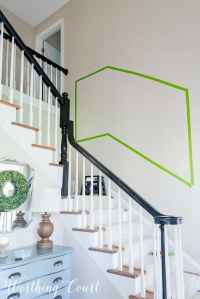 How To Arrange A Stairway Gallery Wall | Worthing Court