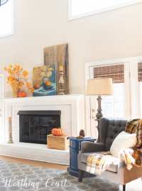 Fall Ideas Tour | My Fall Fireplace And Mantel Decor ...