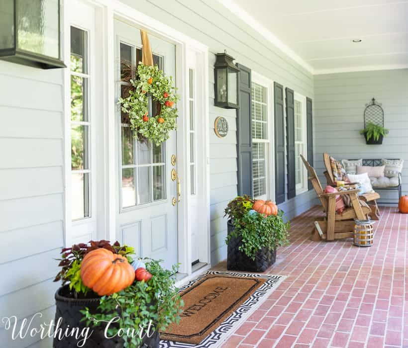 Beautiful Ways To Decorate A: Popping Ideas- 20 Beautiful Ways To Decorate Your Porch