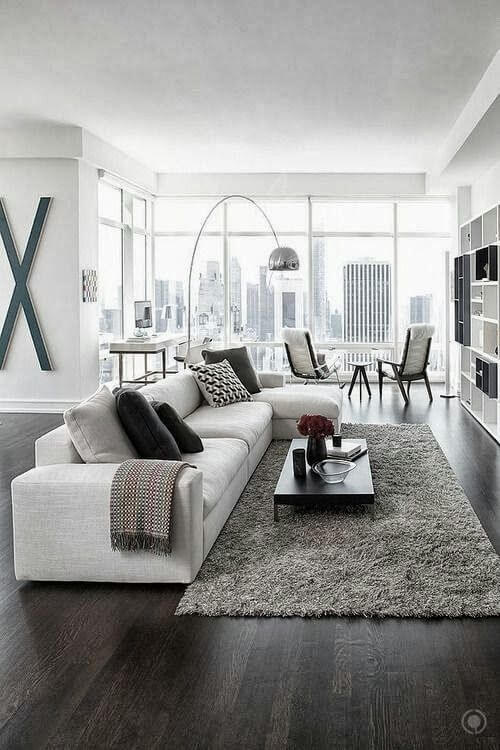 Part of contemporary design's beauty is that it means of the moment, so it's fluid and constantly changing. Modern living room decorating ideas