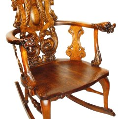 Antique Rocking Chair Price Guide Eames Plastic Stickley Furniture Crafted By Another | Worthpoint