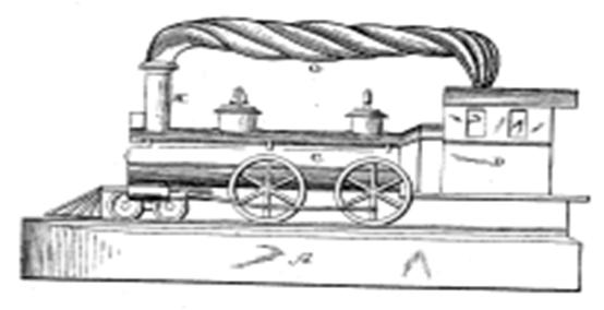 Locomotive-Shaped Iron Could be a Real Money Train