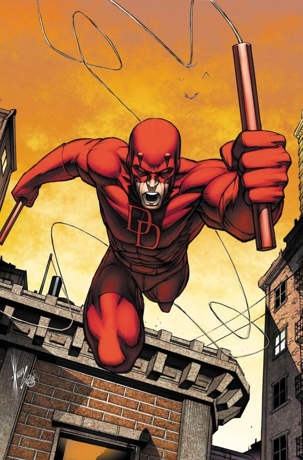 Daredevil Marvel Comics Art
