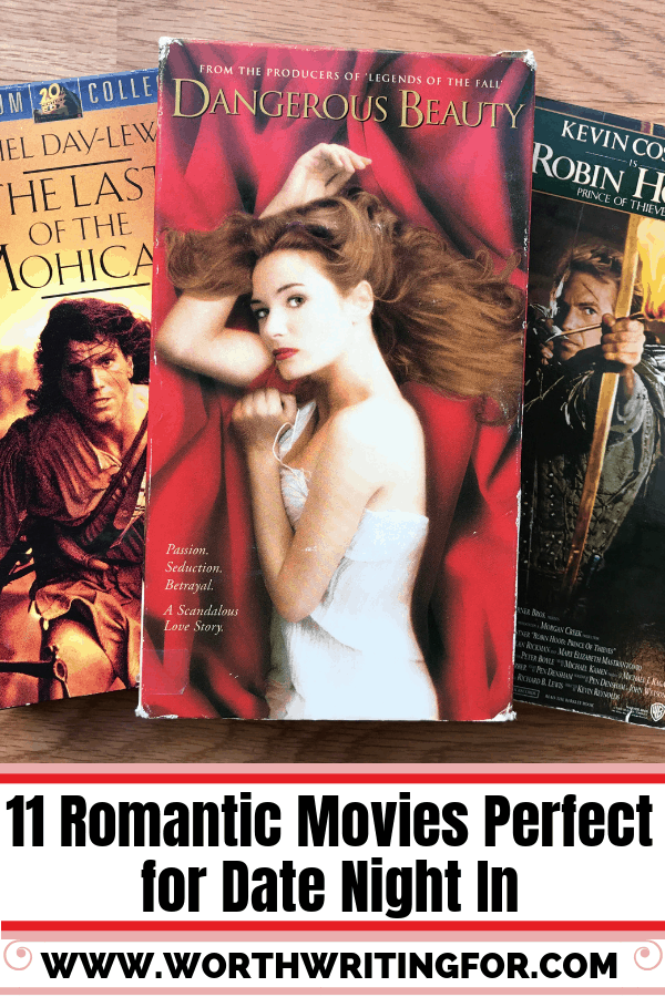 11 Romantic Movies perfect for date night at home! Enjoy date night in on Valentine's Day or any other night you get some couple time with a romantic movie!