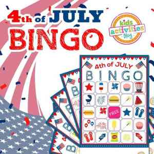 Fourth of July Bingo printable