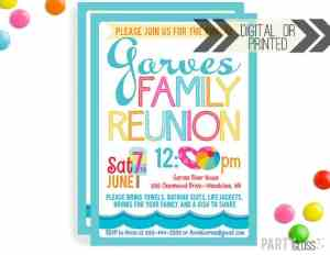 family reunion printables