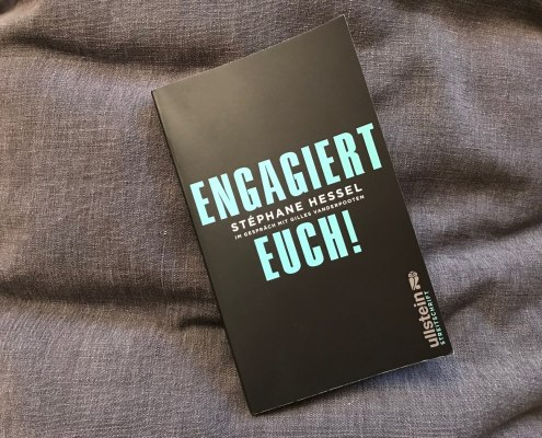 Buchcover: Engagiert Euch! von Stéphane Hessel
