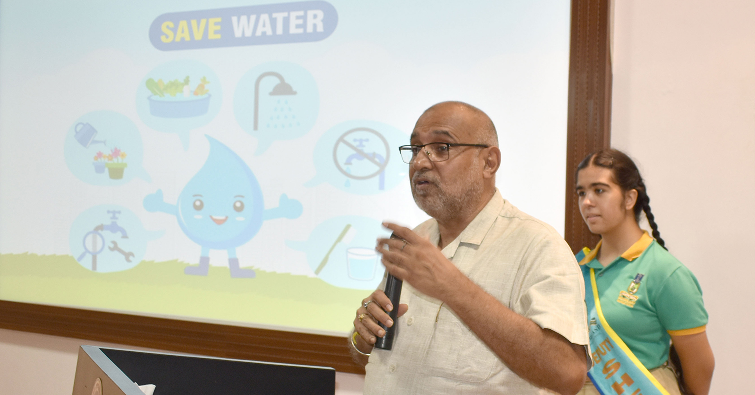 BRAIN STORMING SESSION ON SAVE WATER