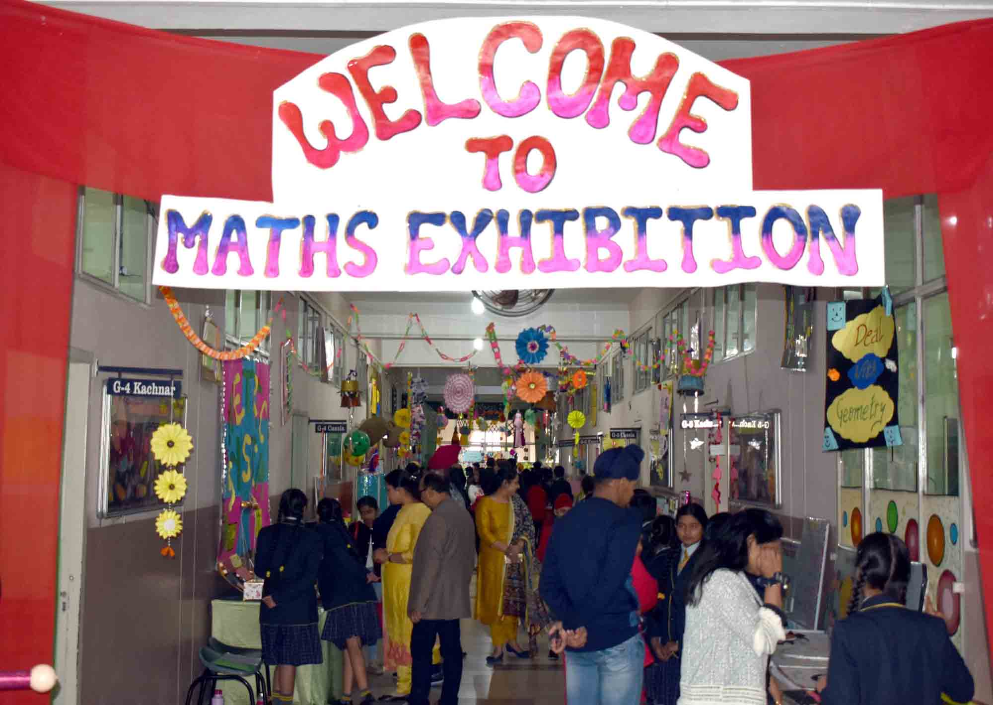 MATHS EXHIBITION CONDUCTED BY GRADE 4/5 MATHEMATICIANS