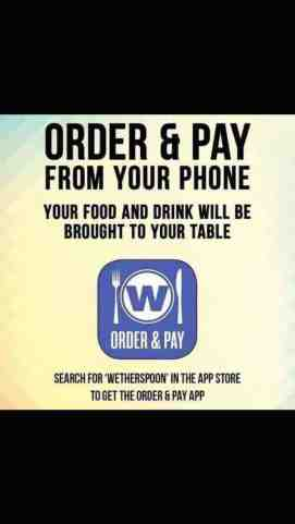 order & pay app