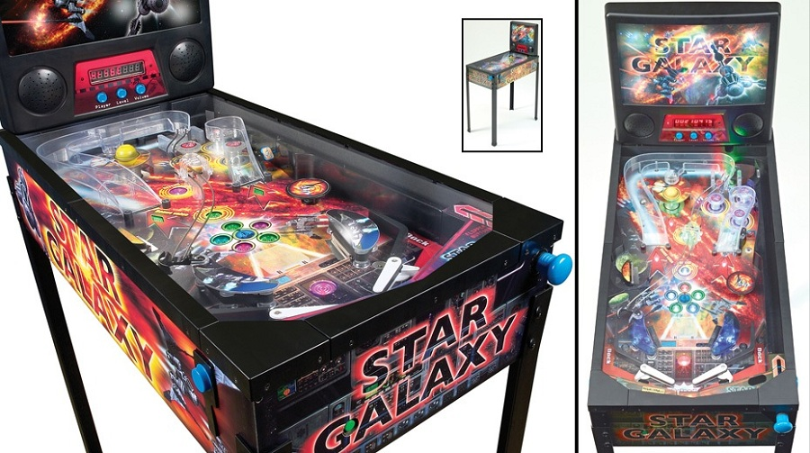 50's kitchen table and chairs american plastic toys custom star galaxy pinball machine | machines arcade ...