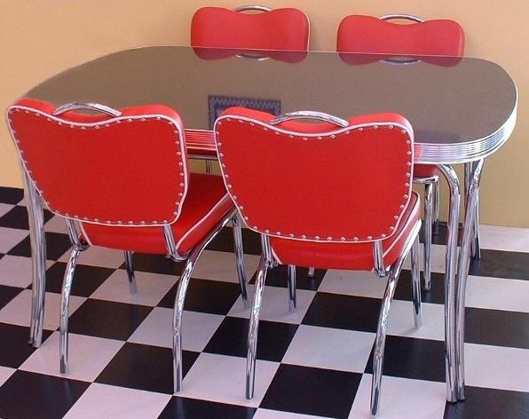 American Diner Furniture  Retro Diner Sets  American