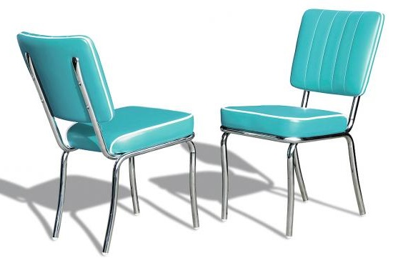 American 50s Style Diner Chairs  Retro Chairs  CO25