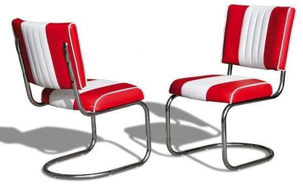 American 50s Style Diner Chairs  Retro Chairs  CO27