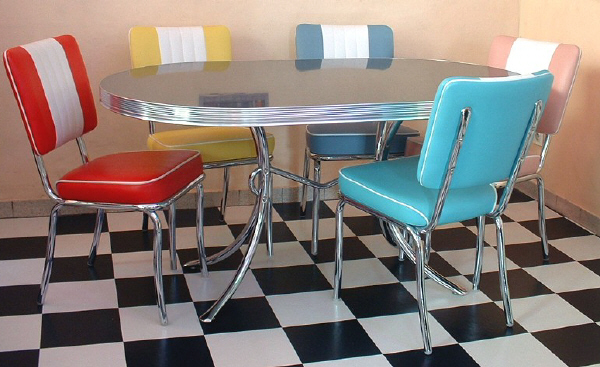 American 50s Style Diner Tables  TO26 Diner Table  Retro