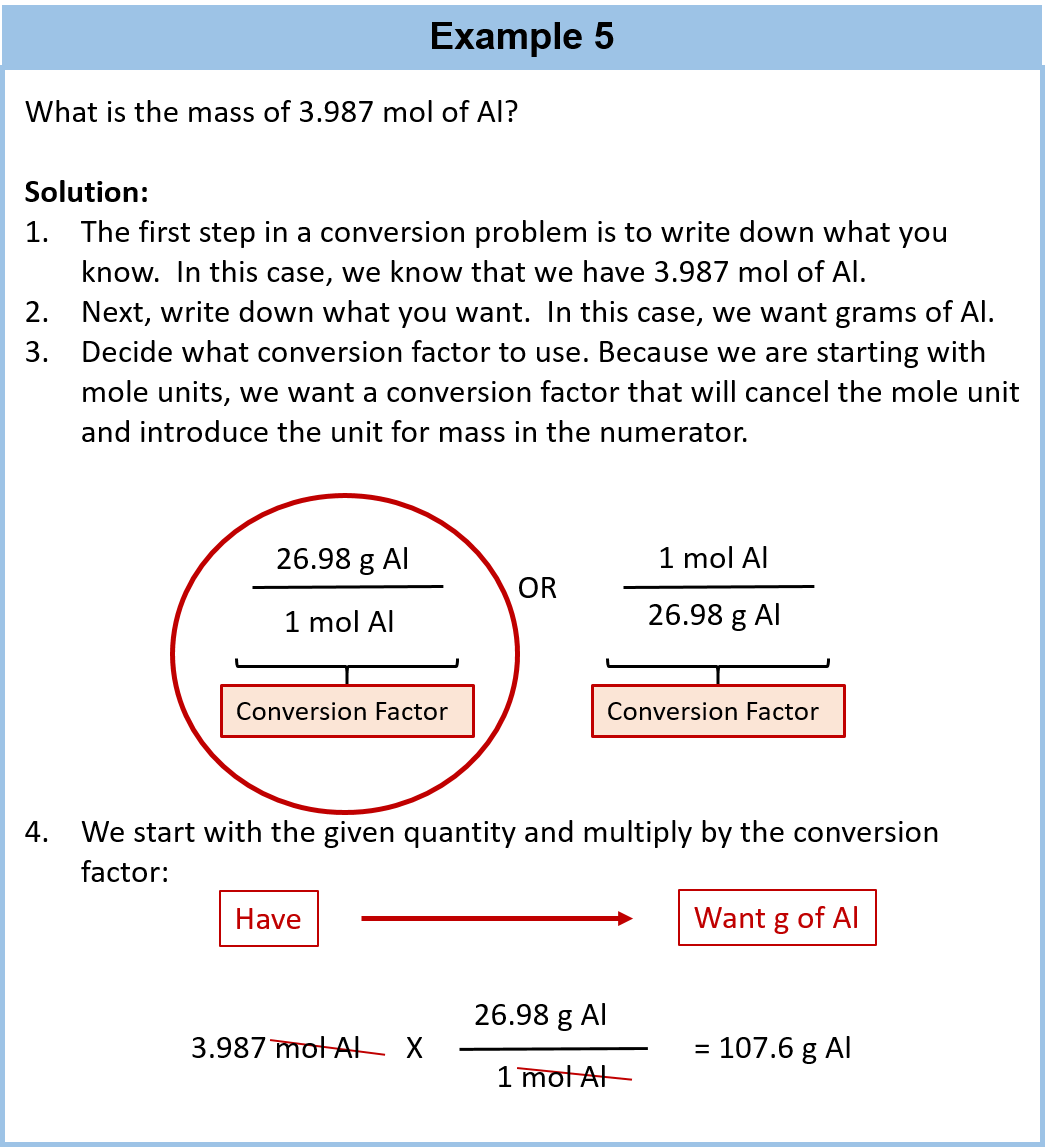 Chemistry Conversions Worksheet With Answers