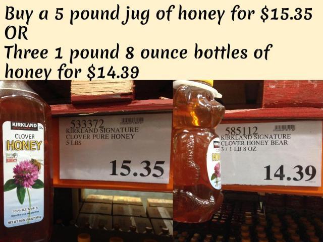 Bulk vs Consumer (Honey) (1)
