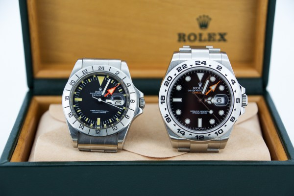Rolex Explorer II references 1655 and 216570