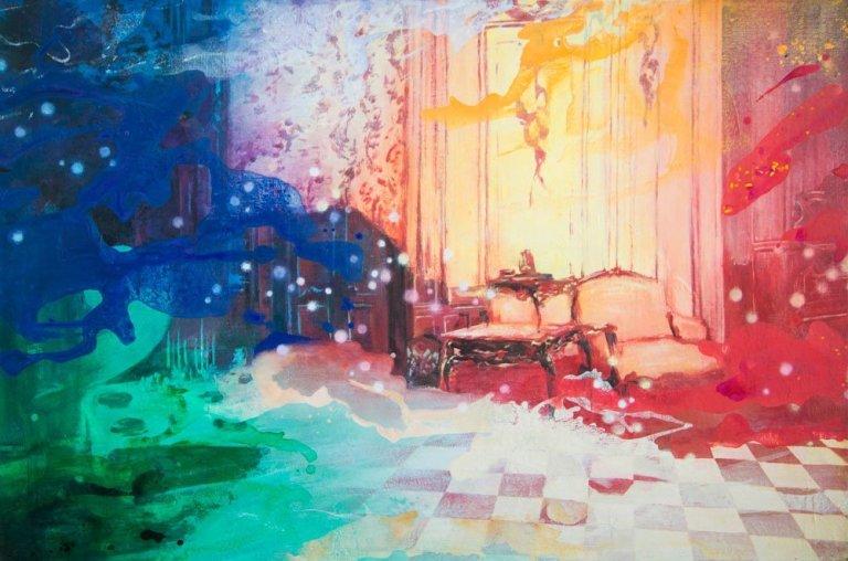 Living Quarters Acryl Paintings