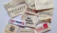 Custom Cotton Labels for Clothing - 100% cotton - Affordable