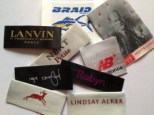 Satin Woven Labels for Clothing
