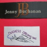 Satin Woven Fabric Labels