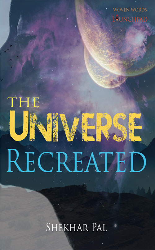 The universe recreated book cover