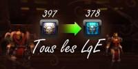 Cataclysm - Tous les LqE iLvL397