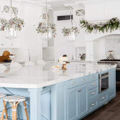 Blue Kitchen Island Cabinet Companies How To Make Your Colorful The Center Of Attention Light