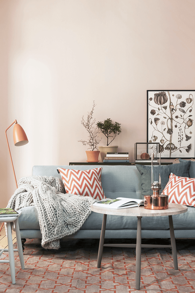 Brighten Up Any Room With A Flattering Peach Paint Color